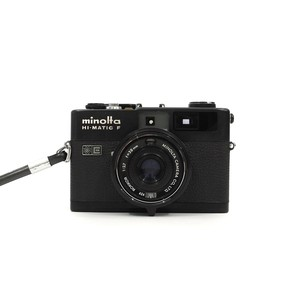 MINOLTA HI-MATIC F Black