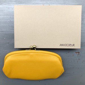 ANVOCOEUR : Marietta Long Wallet   Color : Musterd