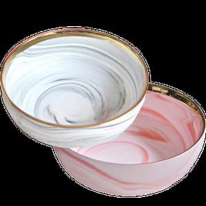 Marble big bowl / 大理石ボウル L