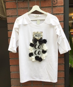フリルパフュームTシャツ