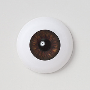 Silicone eye - 19mm French Brown