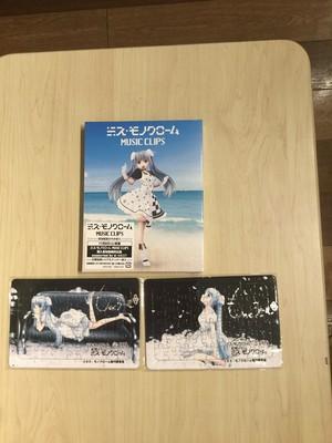 【当店のみ!残り2】直筆サイン入りオリジナルジグソーパズル付き ミス・モノクローム MUSIC CRIPS Blu-ray