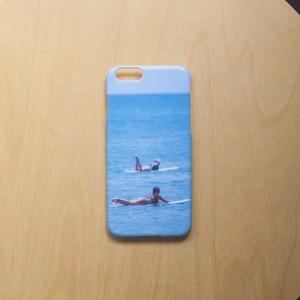 """三浦安間 iPhone6/6s ハードケース """"beach life"""""""