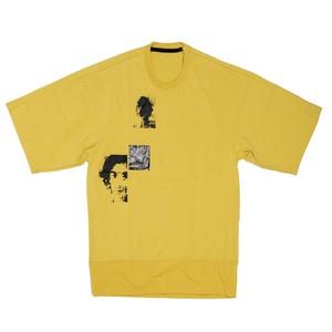 657CPM10-YELLOW / プリントビッグ Tシャツ