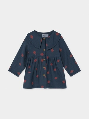 【19AW】ボボショセス(BOBO CHOSES) -ALL OVER SMALL SATURN PRINCESS DRESS[12-18m/18-24m/24-36m]