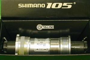 BB-5500 Shimano 68mm JIS BSC BC1.37 軸長118.5mm (118)