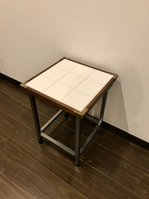 Tile side table 送料無料