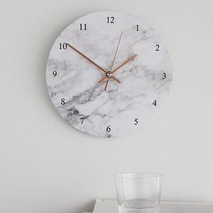 modern marble clock / マーブル ウォールクロック 壁掛け時計 大理石模様 韓国 雑貨