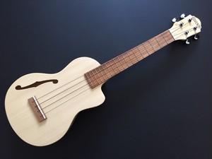 Ezo's Ukulele Thorogh neck Concert F ホール