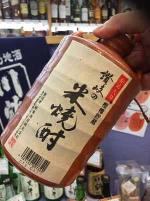 香川県【綾菊酒造】『綾菊 かめ入り 讃岐の米焼酎 720ml』