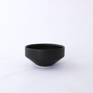3RD CERAMICS(サードセラミックス) 湯呑 φ8.5 × H4cm ブラック 岐阜 多治見市 陶器 スタイリッシュ プレゼント テーブルウェア
