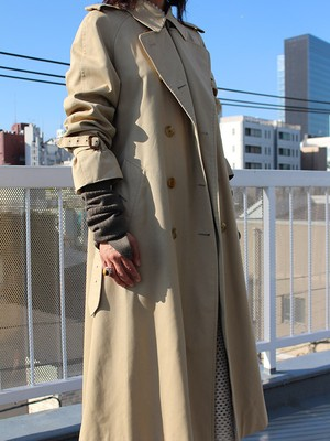 70s burberry coat