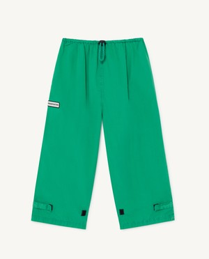 The Animals Observatory  EEL KIDS TROUSERS green