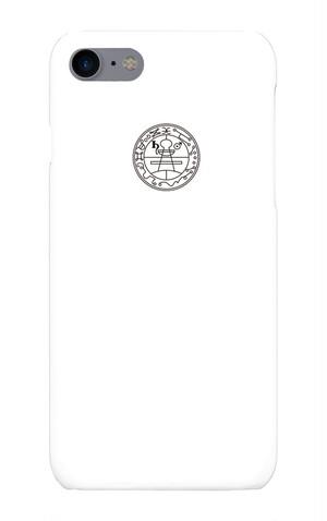 【開運アップ】ソロモンの秘密の封印iPhone7ケース(ホワイト)