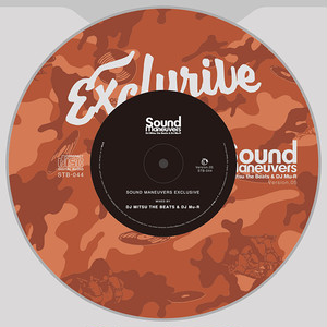 【CD】Sound Maneuvers (DJ Mitsu the Beats & DJ Mu-R) - EXCLUSIVE ver.5