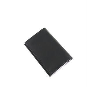 エッティンガー ETTINGER ロイヤルコレクション カードケース 名刺入れ メンズ ST143JR-PURPLE ブラック ブラック