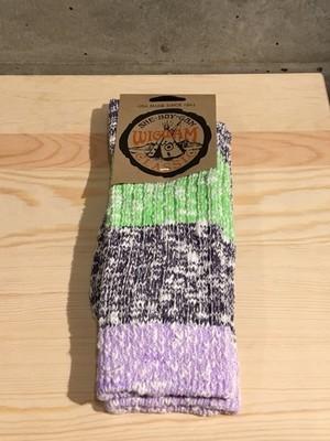 Wigwam/ウィグワム Capriソックス Purple[L]