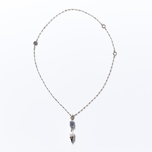 3WAY PEARL STUDS PENDANT NECKLACE