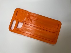 iPhone 7/8  Plus 用 GRIPL プロトタイプモデル(オレンジ)