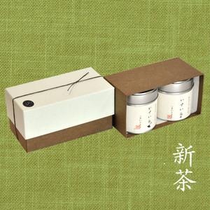 【新茶】小缶2本箱 八十八夜の茶/八十八夜の茶