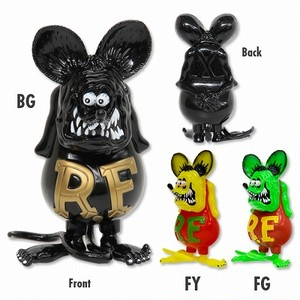 Rat Fink Soft Vinyl Doll Fluorescent BGRFF Special edition