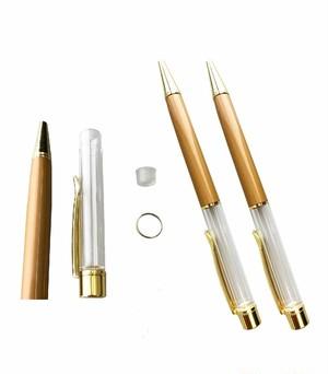 AseiwaA ハーバリウム ボールペン 手作りキット 本体のみ ペン 同色 3本セット (ベージュ) B07KLZF4FK