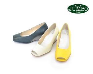 ☆靴工房JUMBO☆★Simple Elegance★復刻☆ウエッジのオープントウ(75101)