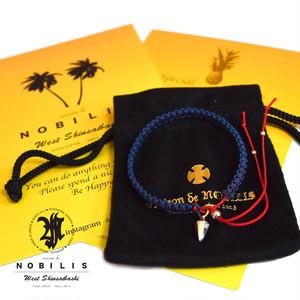 Crystal Bracelet Navy×Red【品番 16A2008】