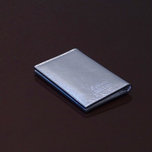 MOSCOW SILVER / PINETTI DOUBLE BUISINESS CARD HOLDER(モスクワ シルバー / ピネッティ ダブルビジネスカードホルダー)
