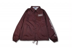 GOODSPEED equipment EVILACT(イーブルアクト) / Logo Coach Jacket (burgundy)