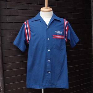 "70~80's ""Hilton"" Short Sleeve Bowling Shirt  / 70~80年代 [ヒルトン]  半袖 ボーリング シャツ"