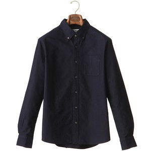 SWEEP!! OXFORD BUTTON-DOWN SHIRT ・NAVY