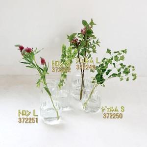 リューズガラス ワイズライン フラワーベース S (ジェルム  ・トロン )