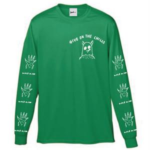JORIART ロングTシャツ-WOLFMAN- GREEN
