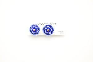 有田焼ノンホールピアス flower 27