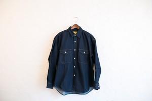 SEVEN  BY  SEVEN デニム タックシャツ