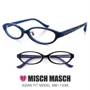 MISCH MASCH レディース 眼鏡 mm-1036-2 CanCam Rayなどの人気ブランド ミッシュマッシュ メガネ [ レディース 女性用 ]