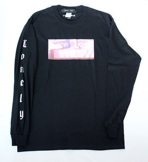 "LONELY論理#8 ""FUJYUN ISEI KOUYU"" LONG SLEEVE / BLACK"