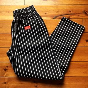 """再入荷!! COOKMAN(クックマン) Chef's Pants イージーパンツ """"Pin Stripe"""" BLACK"""