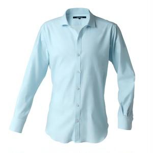 DJS-767 decollouomo メンズドレスシャツ 長袖 overture - ライトブルー