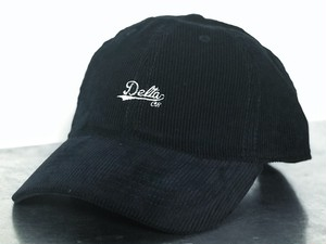 Delta Creation Studio DCS SCRIPT CORDUROY CAP -Navy-