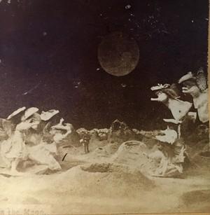 月面少女王国のステレオグラム