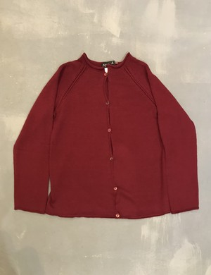 agnès b. No-collar Cardigan / Made in Italy [1941]
