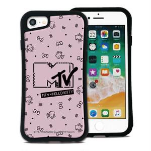 MTV×ハローキティ カワイイポップ ロゴピンク セット WAYLLY(ウェイリー) iPhone 8 7 XR XS X 6s 6 Plus XsMax対応!_MK_