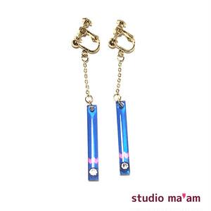■KASAMATSU-17 swingイヤリング 〜ピアス変更可〜