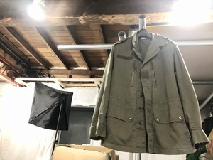WAREIN FLERS 1980 ECLAIR French Military F-1 Jacket size 96M