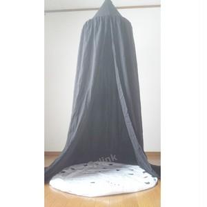 キャノピー(ブラック)★人気の天蓋!北欧モノトーンのインテリアにもおすすめ 240cm