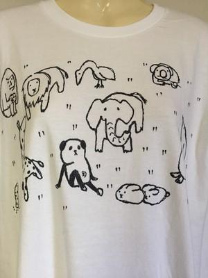 アニマルちゃんTシャツ