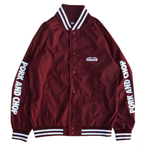 STADIUM JKT/BURGUNDY