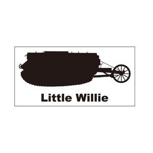 戦車ステッカー リトル・ウィリー